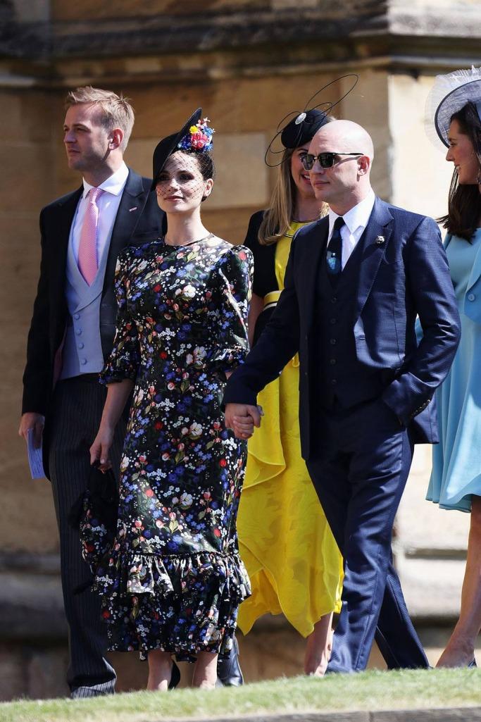 Guests at the Royal Wedding