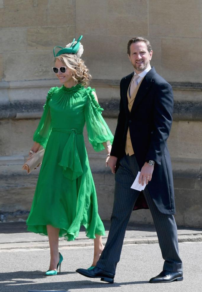 Guests at the Royal Wedding: Caroline Greenwood and Will Greenwood