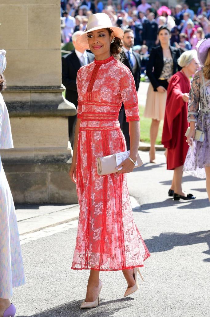 Guests at the Royal Wedding: Gina Torres