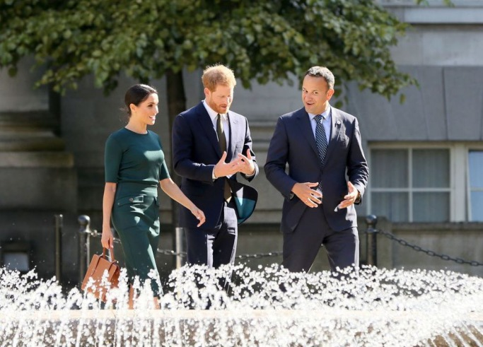 Duke and Duchess of Sussex in Dublin