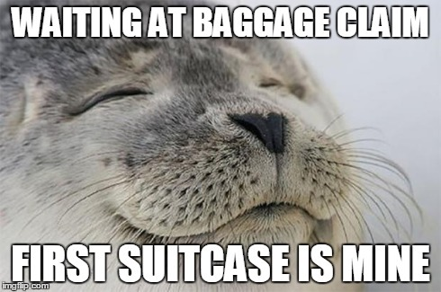 Waiting to see if your bag arrived