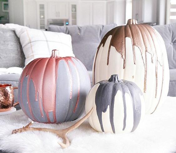 Chic Halloween Pumpkins 1