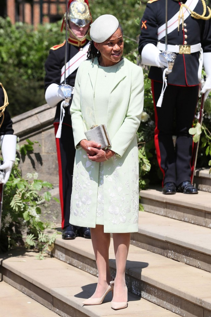 Guests at the Royal Wedding: Mother of the Bride