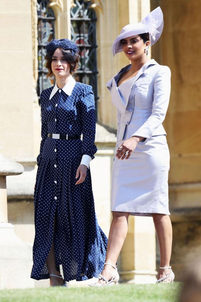 Guests at the Royal Wedding: Abigail Spencer and Priyanka Chopra