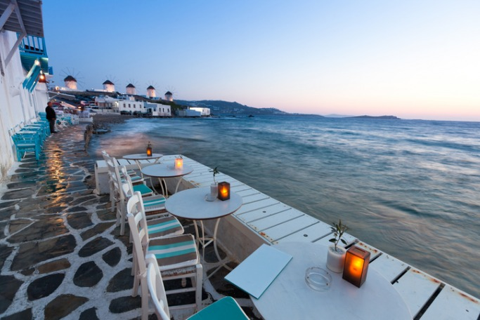 Prettiest Greek Islands Mykonos