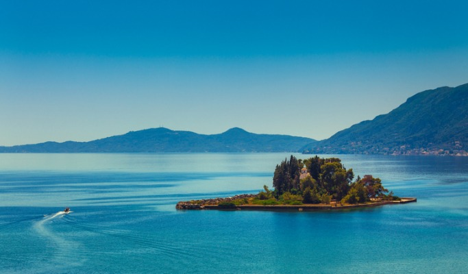 Prettiest Greek Islands Corfu