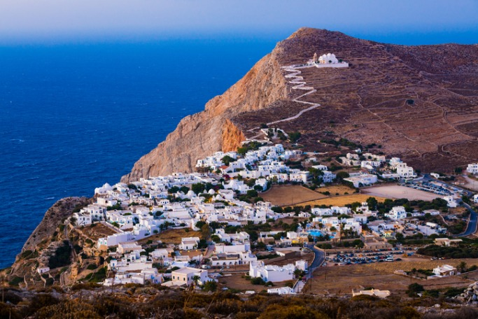 Prettiest Greek Islands Folegandros