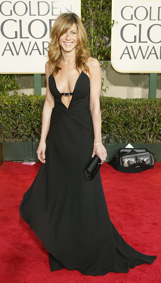 Jennifer Aniston At The Golden Globe Awards 2004
