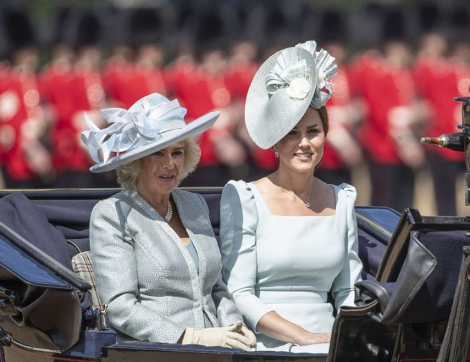 Kate Middleton at Trooping the Colour