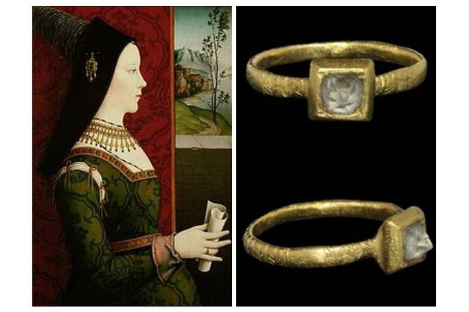 The 'M' Ring Presented to Mary of Burgundy