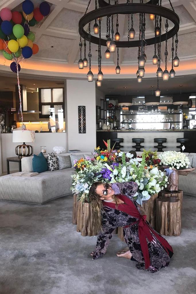 mariah carey 47th birthday home
