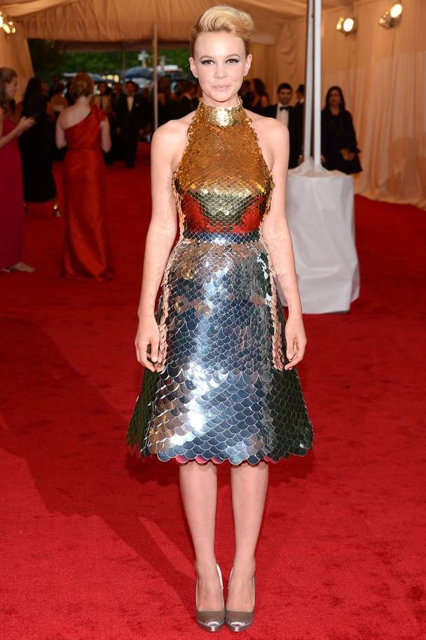 2012 Carey Mulligan wearing Prada