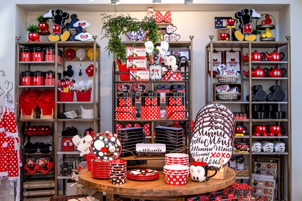 New Disneyland home store