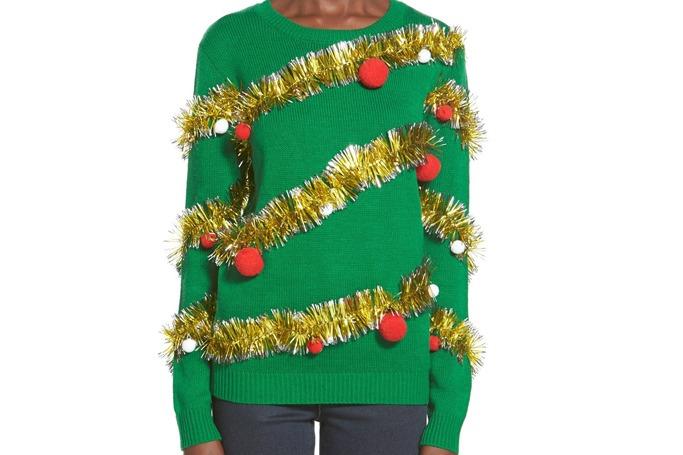 Ten Sixty Sherman - Tinsel Ball Christmas Sweater