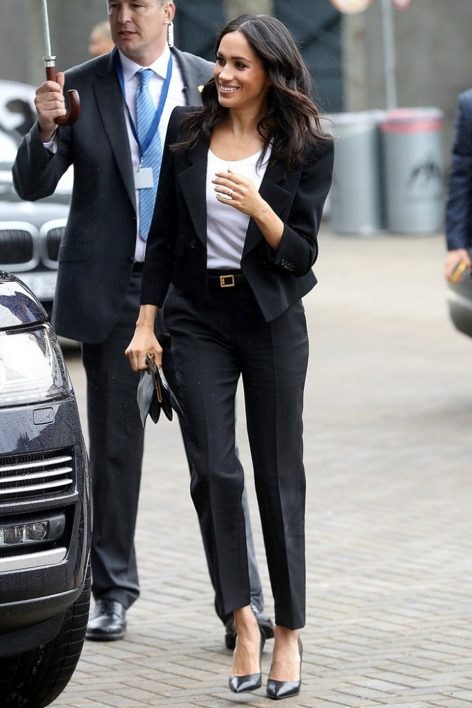 Meghan Markle's sleek suit