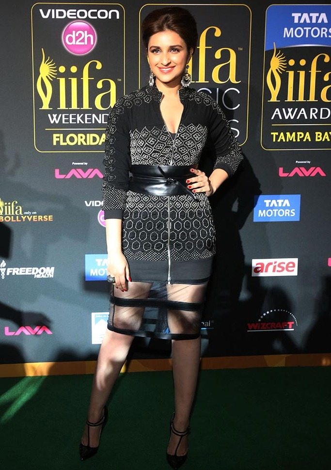Parineeti Chopra at the IIFA Awards 2014