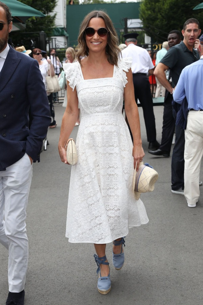 Wimbledon 2018 Best Dressed: Pippa Middleton