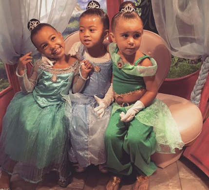 Princess Makeovers, North West and Penelope Disick