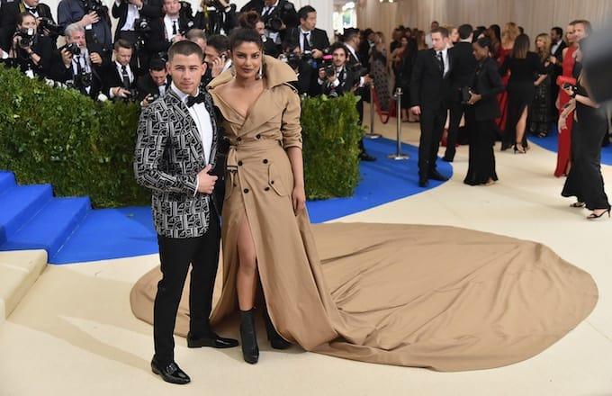 Priyanka Chopra and Nick Jonas 2017 Met Ball