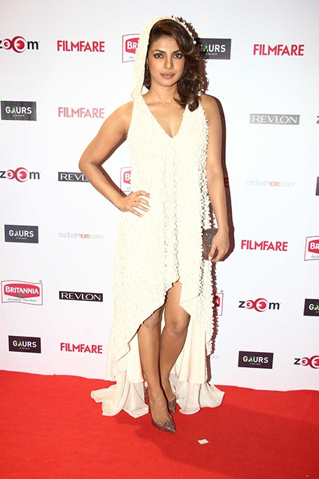 Priyanka Chopra at the Filmfare nominations party in 2015