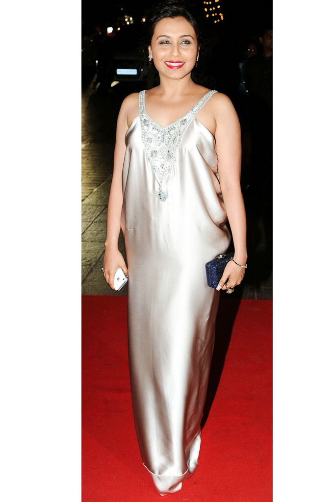 Rani Mukerji at Karan Johar's birthday bash in 2012