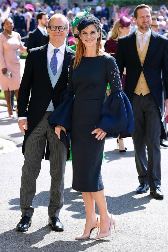 Guests at the Royal Wedding: Sarah Rafferty and Santtu Seppala