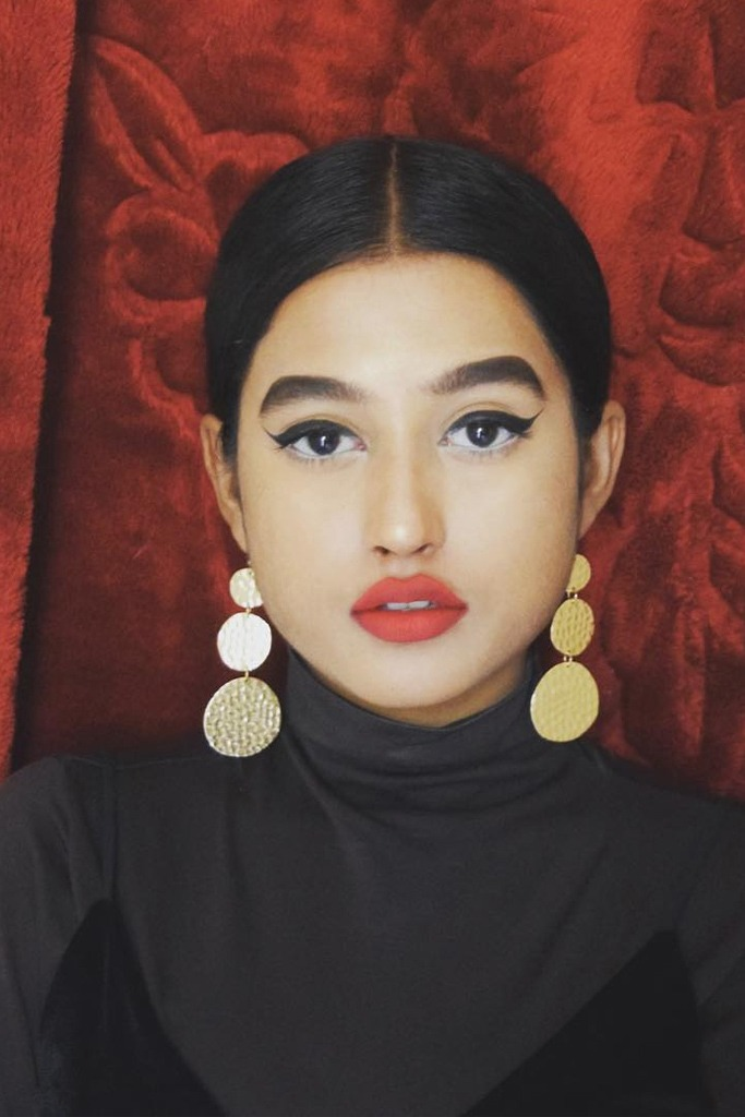 rhea jacobs new face of marc jacobs beauty
