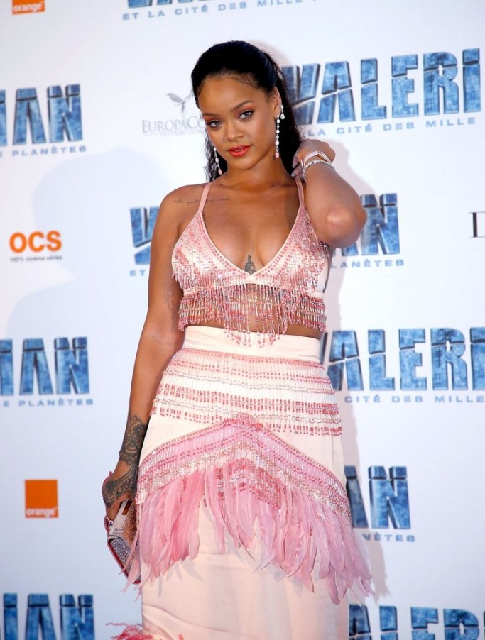 Rihanna Valerian and the City of a Thousand Planets promotions