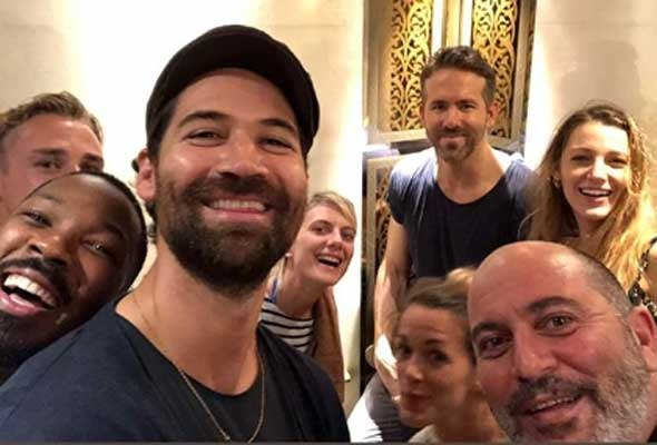 Spotted, Blake Lively joins her husband in UAE