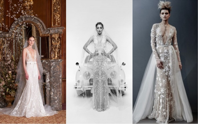 Spring 2019 Bridal Collections Sheer