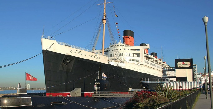The Queen Mary Hotel, Long Beach, California