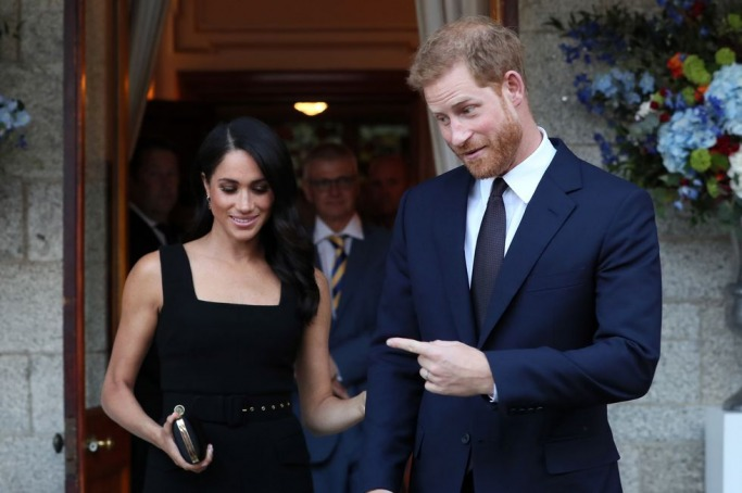 Meghan Markle in Emilia Wickstead LBD 2