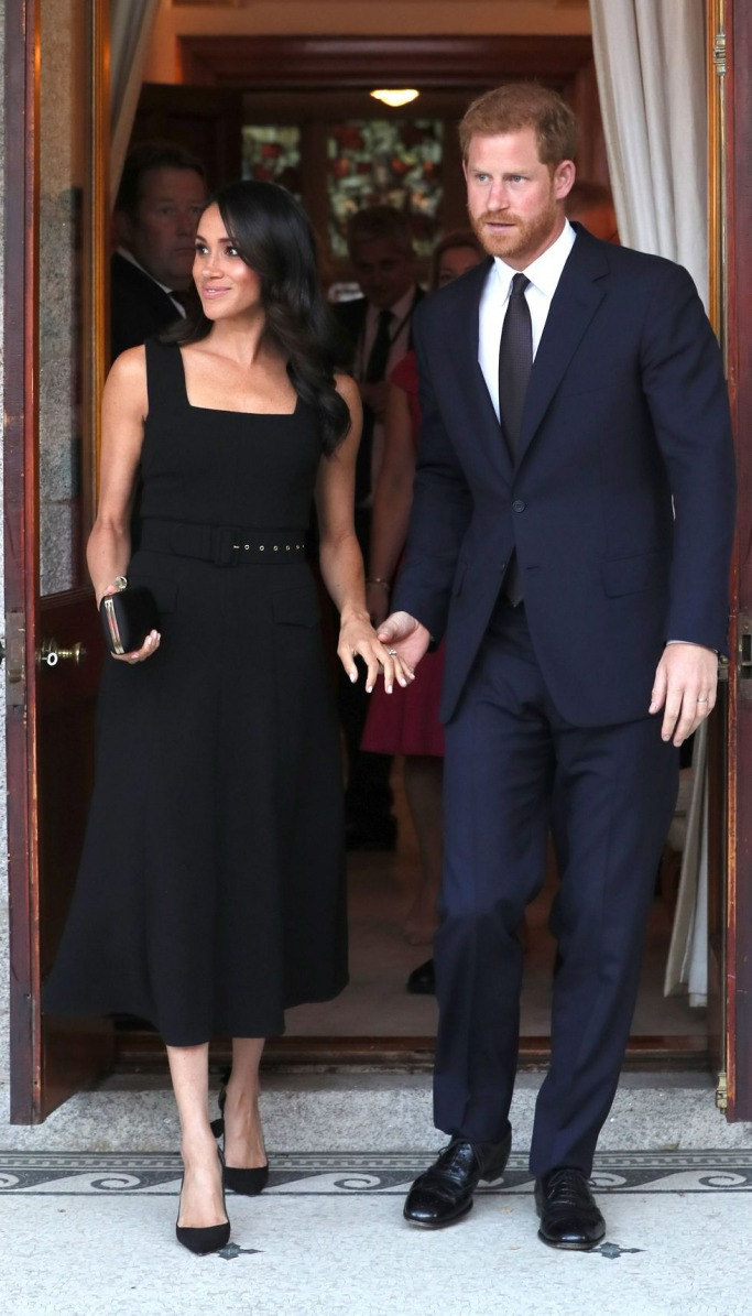 Meghan Markle in Emilia Wickstead LBD