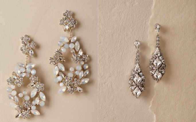 Statement bridal earrings 7