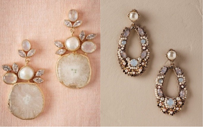 Statement bridal earrings 4