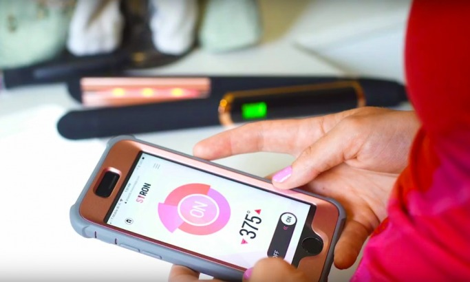 Hair Straighteners Controlled by an App