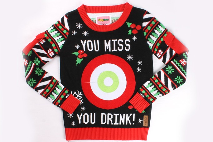Tipsy Elves - Drinking Game Sweater