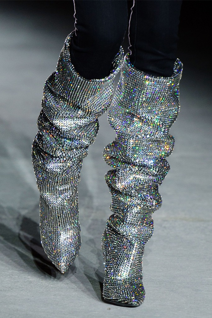 YSL $10000 boots 2017