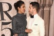 Priyanka Chopra And Nick Jonas At Ralph Lauren's NYFW Show