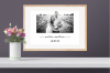 Personalised Valentine's Day Photo Print