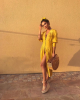 Dubai's Best Dressed: Yellow summer street style 3