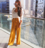 Dubai's Best Dressed: Yellow summer street style 9