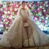 Famous Brides in Elie Saab Wedding Dresses -Khadija Uzhakhovs