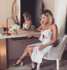 Love Island star holidaying in Dubai