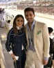 Olivia Palermo and Johannes Huebl at Abu Dhabi Grand Prix