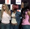 Destiny's Child show off all the belts you could wear with your jeans in 2001