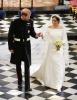 Meghan Markle's Givnechy Bridal Gown
