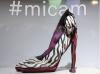 Shoe illusion at MICAM footwear fair
