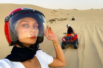 All The Pics From Bella Hadid's Abu Dhabi Desert Trip