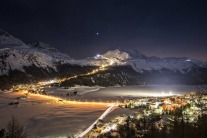 The Slopes Of St Moritz